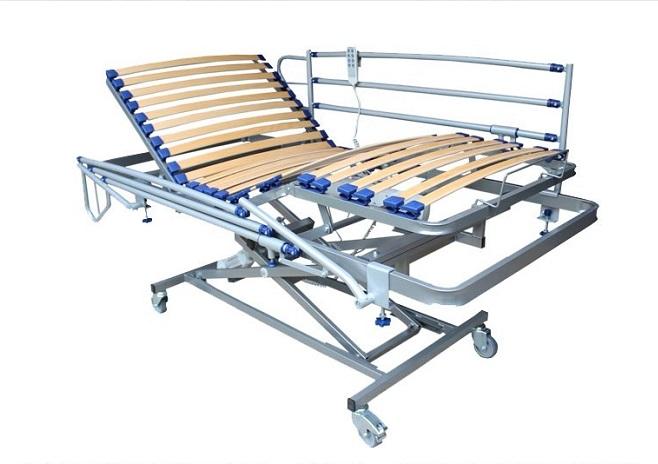 camas articuladas con carro elevador solocamas