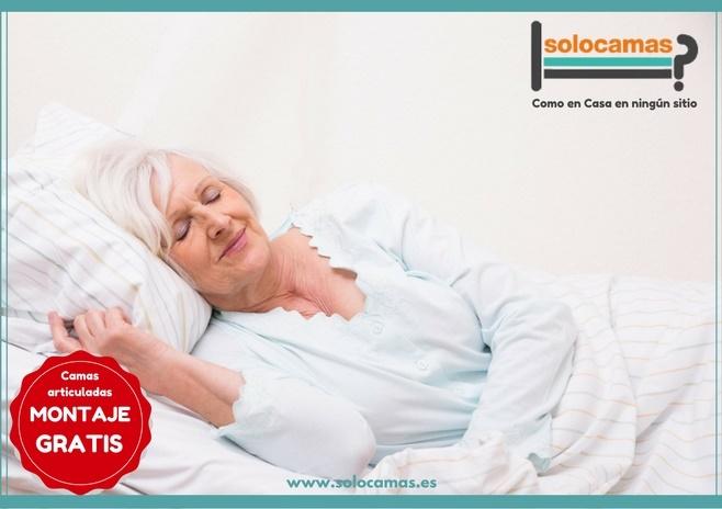 camas articuladas para enfermos