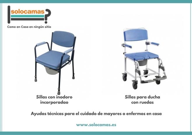 Sillas para ducha y sillas inodoro ayudas t cnicas en casa for Sillas para ducha plegables