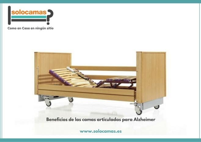 cama articulada para alzheimer