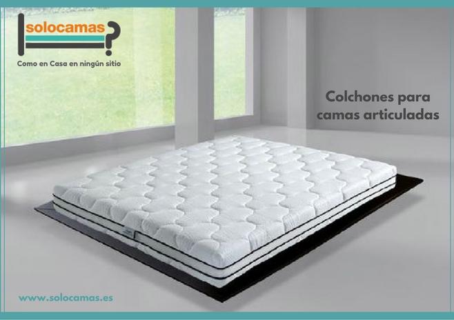 colchon cama articulada solocamas