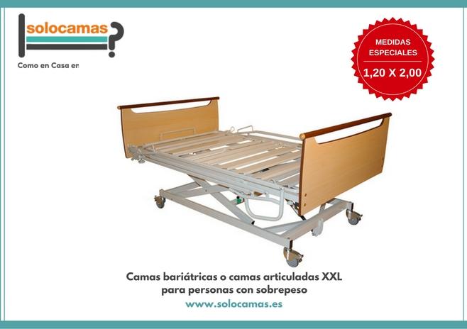 camas bariatricas o camas articuladas XXL